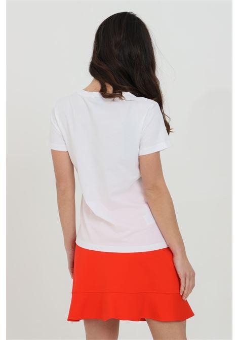 T-shirt girocollo con logo frontale PINKO | T-shirt | 1G1649-Y4LXZ04