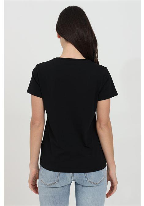 T-shirt girocollo con logo frontale PINKO | T-shirt | 1G1649-Y4LXZ99