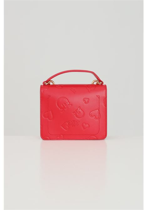 Borsa donna rosso pinko con tracolla regolabile amovibile PINKO   Borse   1N20CZ-Y7J7R43