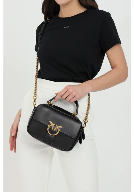 Clutch bag with shoulder strap and handles PINKO | Bag | 1P221U-Y6XTZ99