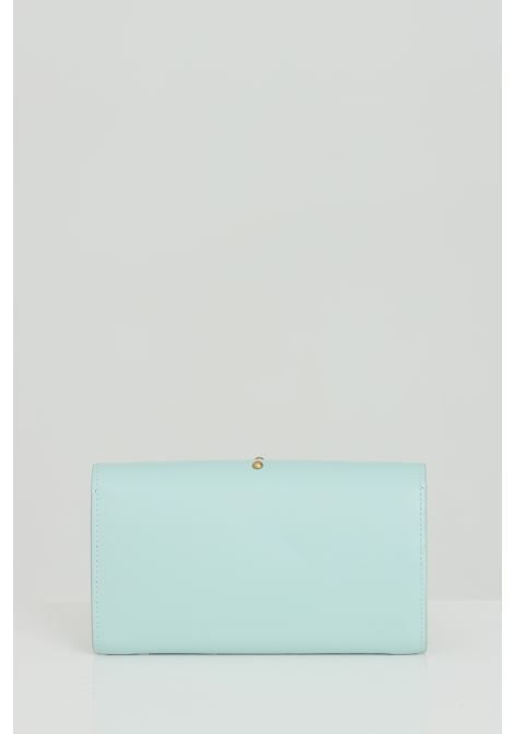 Clutch bag with shoulder strap and metal logo PINKO | Bag | 1P221Y-Y6XTT14