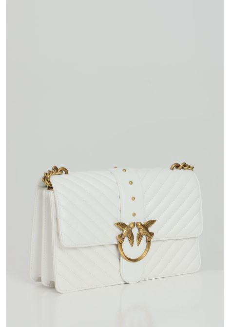 Quilted bag with chain shoulder strap PINKO | Bag | 1P221Z-Y6XVZ14