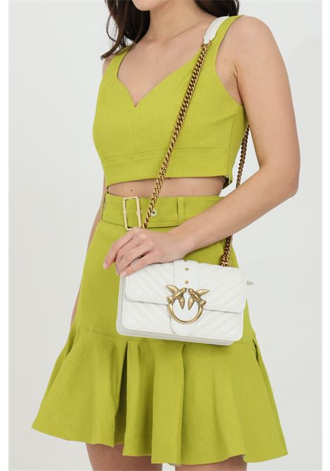 Steel bag with shoulder strap PINKO | Bag | 1P227L-Y6XVZ14