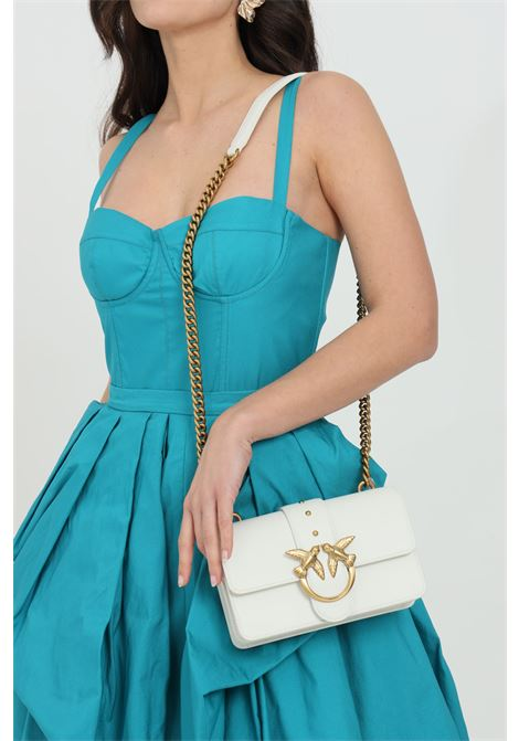 Steel bag with shoulder strap PINKO | Bag | 1P227M-Y6XTZ14