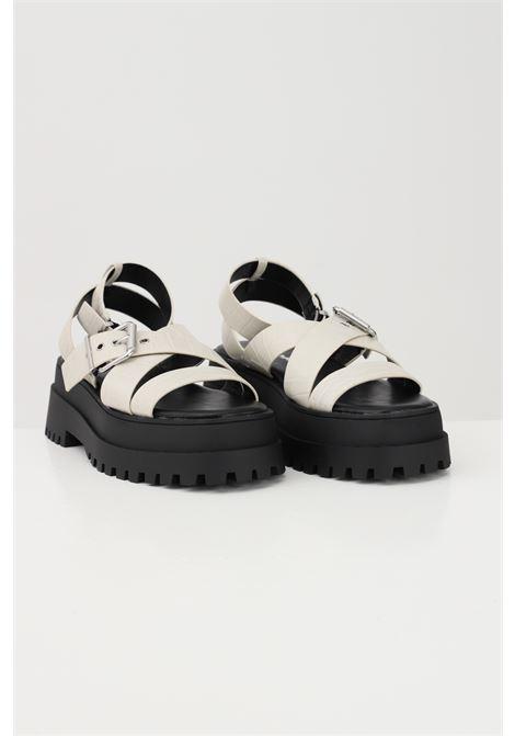 Beige women's sandals adjustable closure with buckle public desire PUBLIC DESIRE | Party Shoes | FOLLOWBEIGE