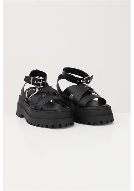 Black women's sandals adjustable closure with buckle public desire PUBLIC DESIRE | Party Shoes | FOLLOWBLACK