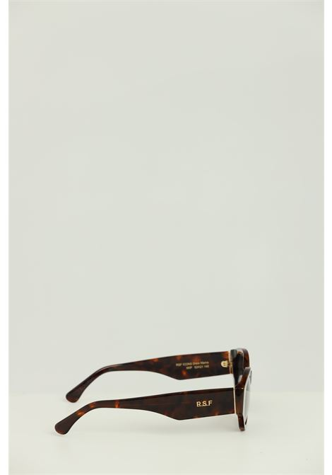 Occhiali unisex maculato Retrosuperfuture con logo stampato sulle aste RETROSUPERFUTURE | Sunglasses | XKP-53HAVANA