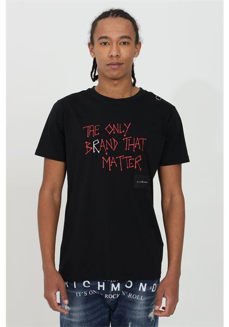T-shirt The Only Brand That Matter RICHMOND | T-shirt | RMP21039TSHBBLACK