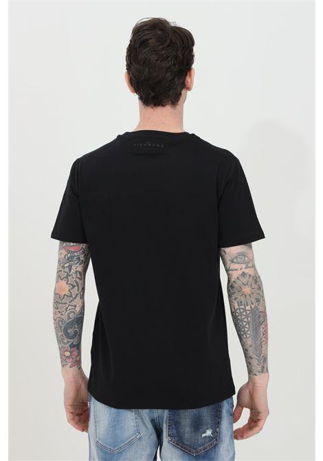 T-shirt with Federick print RICHMOND | T-shirt | RMP21182TSHBBLACK
