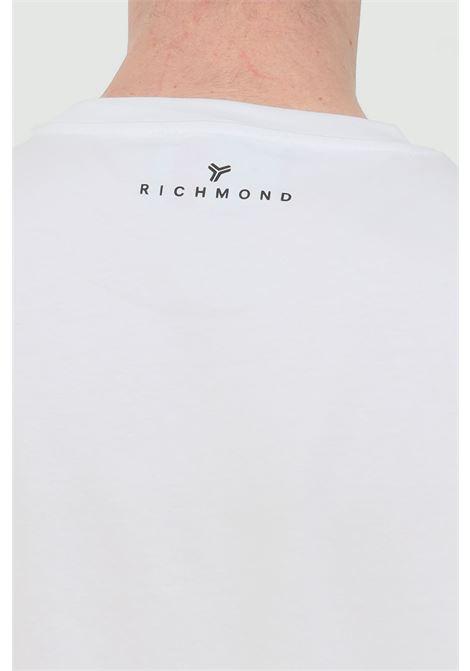 T-shirt with front print RICHMOND | T-shirt | UMP21077TSOFWHITE