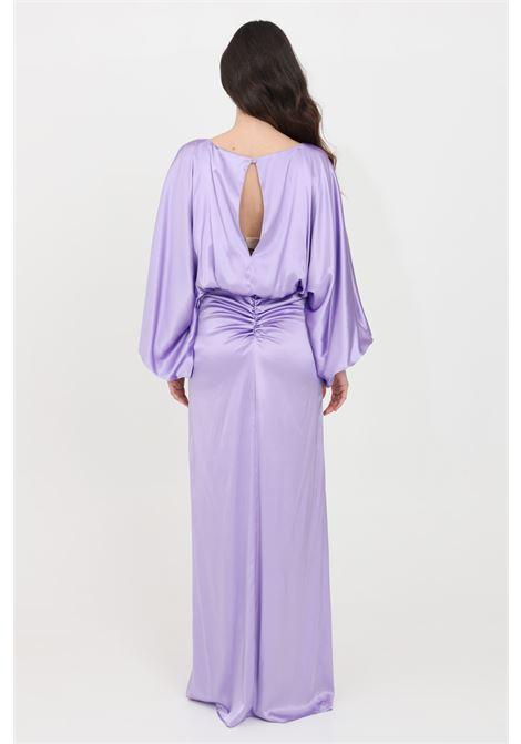 Lilac long dress simona corsellini SIMONA CORSELLINI | Dress | P21CPAB030-01-TRAS00250500