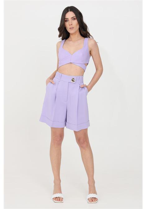 Lilac elegant shorts simona corsellini SIMONA CORSELLINI | Shorts | P21CPSH001-01-TCAD00010500