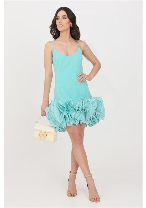 Turquoise short dress stefano de lellis STEFANO DE LELLIS | Dress | 13DEBORAVERDE ACQUA