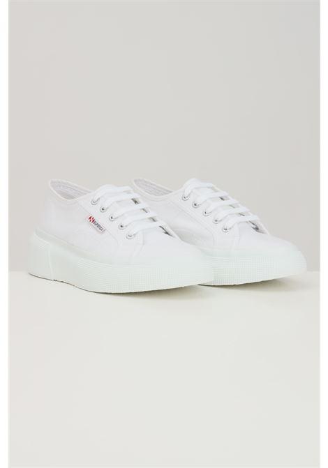 Sneakers superga 2287 donna bianco SUPERGA | Sneakers | S00DQS0901
