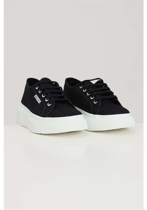 Black women's superga 2287 sneakers SUPERGA | Sneakers | S00DQS0999