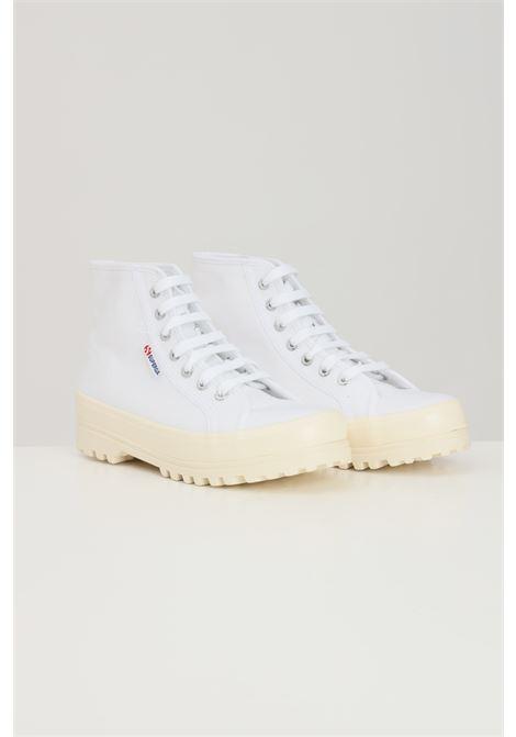 Sneakers superga 2341 alpina shiny gum donna bianco SUPERGA | Sneakers | S111TCWA8I