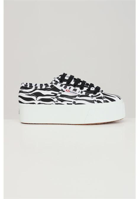 Sneakers snake superga 2790 print donna stampa zebra SUPERGA | Sneakers | S11317WA4G