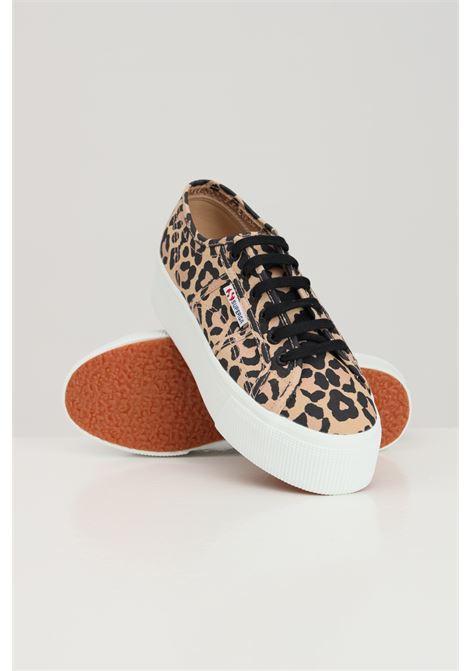 Sneakers snake superga 2790 print donna stampa maculata SUPERGA | Sneakers | S11317WA4H