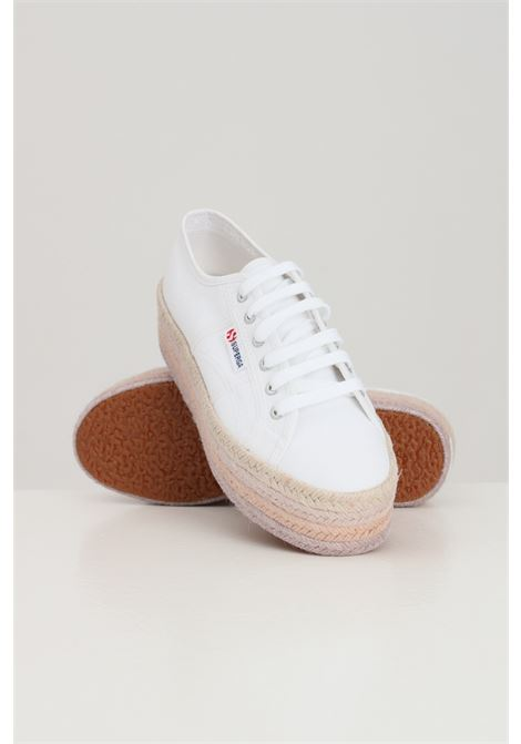 Sneakers donna bianco superga 2790 multicolor rope SUPERGA | Sneakers | S3114CWA9V