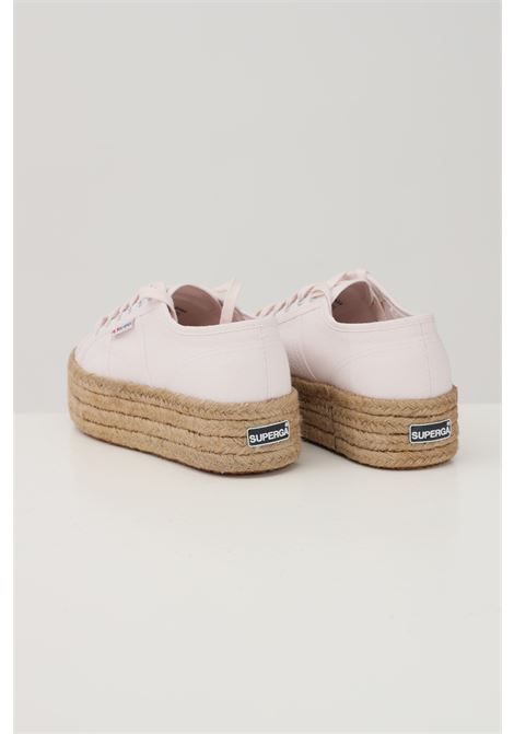 Pink women's sneakers closure with laces superga SUPERGA | Sneakers | S51186W351
