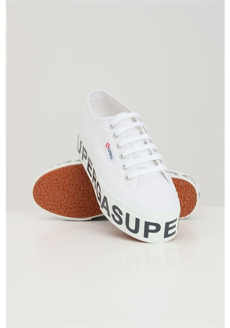 Sneakers superga 2790 platform lettering donna bianco SUPERGA | Sneakers | S7117DW901