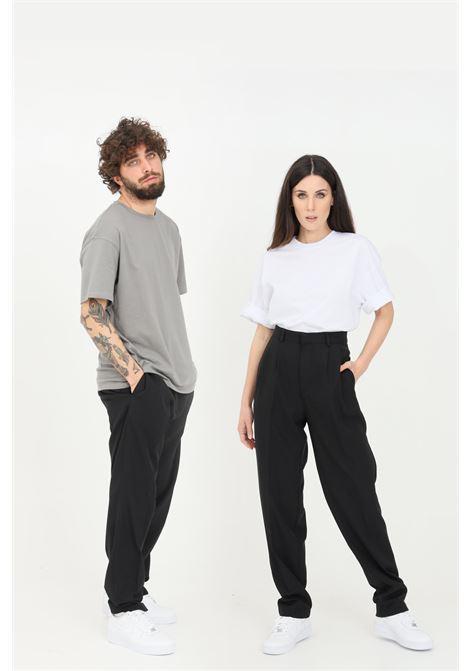 Pantaloni unisex nero the future casual THE FUTURE | Pantaloni | TF0008NERO
