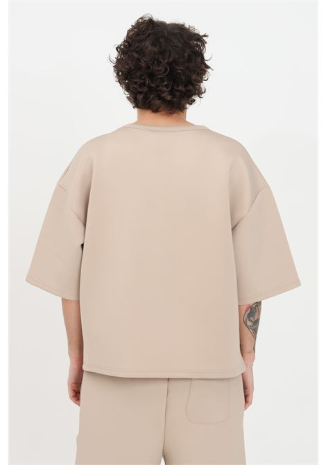 T-shirt unisex beige the future a manica corta THE FUTURE | T-shirt | TF0016BEIGE