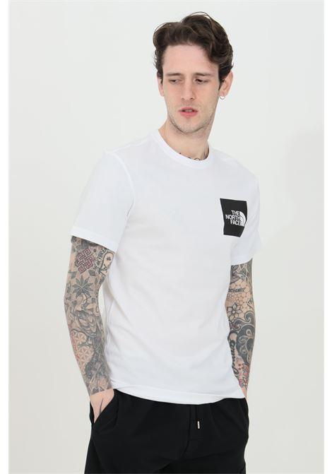 T-shirt girocollo con patch logata frontale THE NORTH FACE | T-shirt | NF00CEQ5LA91LA91