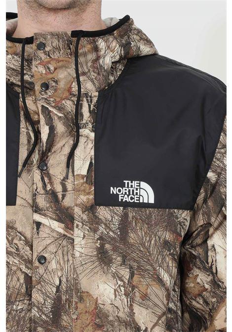 Giacca leggera stampata con zip integrale e bottoni THE NORTH FACE | Giubbotti | NF00CH3704710471