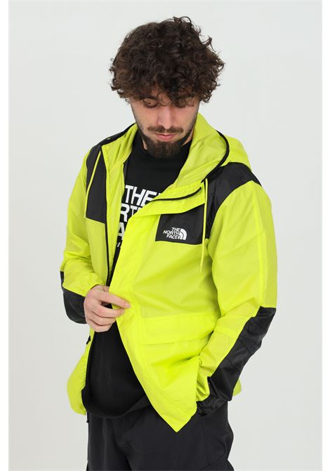 Yellow wind jacket with hood THE NORTH FACE | Jacket | NF00CH37JE31JE31