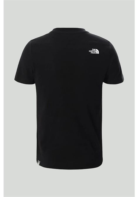 Black t-shirt with logo application on the front. Baby model. Brand: The north face THE NORTH FACE | T-shirt | NF0A3BS2C5W1C5W1