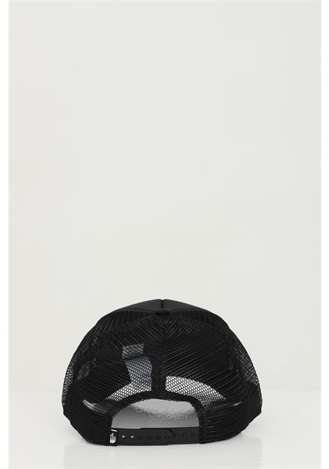 Black cap in solid color with maxi logo print on the front. Mesh insert. The north face THE NORTH FACE | Hat | NF0A3FM3KY41KY41