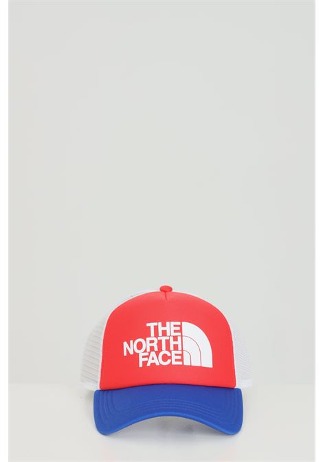 Red cap with mesh and logo print in contrast. The north face THE NORTH FACE | Hat | NF0A3FM3Y3B1Y3B1