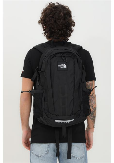Black hot shot special edition backpack in solid color with small logo in contrast. The north face  THE NORTH FACE | Backpack | NF0A3KYJKX71KX71