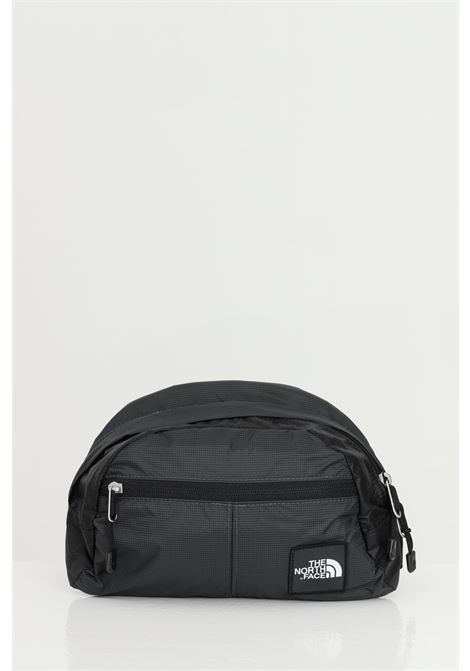 Marsupio unisex grigio-nero the north face in tinta unita con logo a contrasto, cintura regolabile e chiusura con zip THE NORTH FACE | Marsupi | NF0A3KZ5MN81MN81