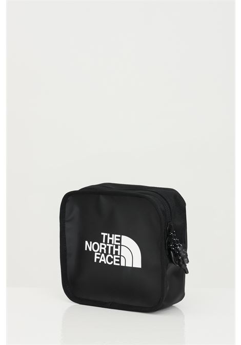 Black explore bardu II bag with removable shoulder strap, solid color with contrasting logo on the front. The north face THE NORTH FACE | Bag | NF0A3VWSKY41KY41