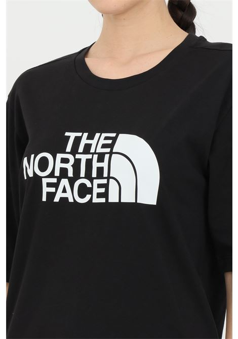 Black coordinates t-shirt with maxi logo print on the front, short sleeve. The north face THE NORTH FACE | T-shirt | NF0A4M5PJK31JK31