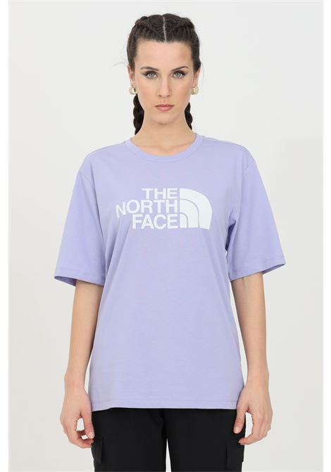 Lilac coordinates t-shirt with maxi logo print on the front, short sleeve. The north face THE NORTH FACE | T-shirt | NF0A4M5PW231W231