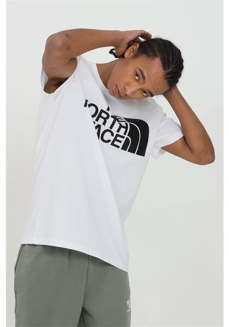 T-shirt con stampa frontale, modello comodo THE NORTH FACE | T-shirt | NF0A4M7XFN41FN41