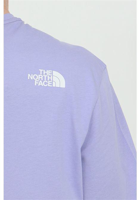 T-shirt girocollo con maxi logo sul fronte THE NORTH FACE | T-shirt | NF0A4M7XW231W231