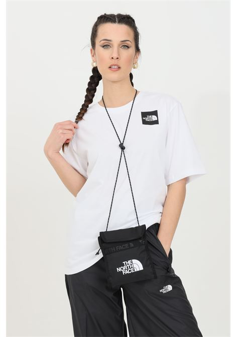White fine boyfriends t-shirt with front logo, short sleeve. The north face THE NORTH FACE | T-shirt | NF0A4SYAFN41FN41