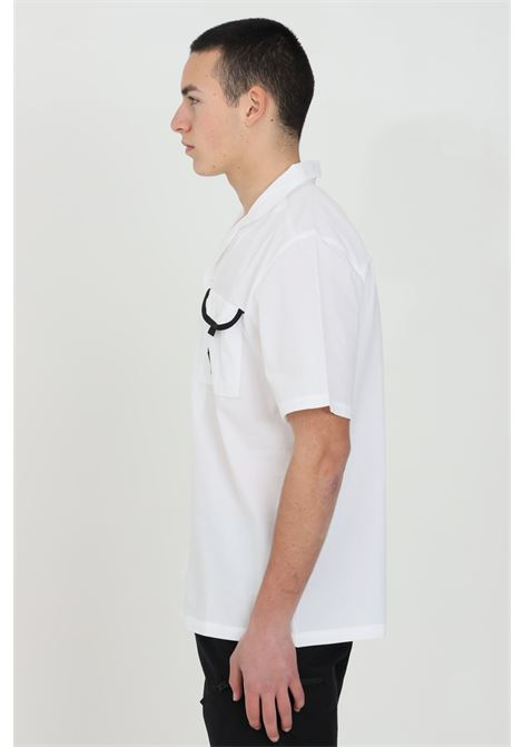 White black box shirt with front pocket with contrasting logo, regular collar. The north face THE NORTH FACE | Shirt | NF0A4T23FN41FN41