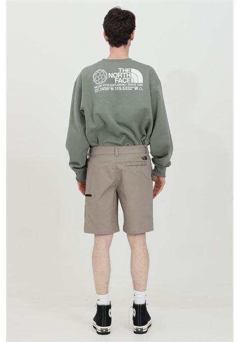 Shorts con bottone e zip in tinta unita THE NORTH FACE | Shorts | NF0A4T24VQ81VQ81