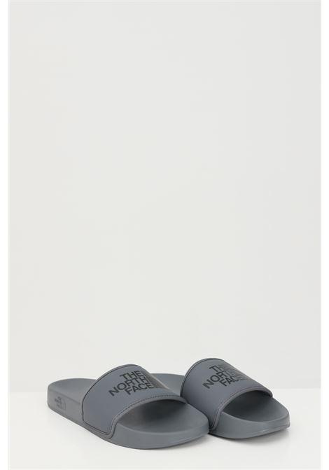 Ciabatte MEN'S BASE CAMP SLIDE III uomo grigio the north face con logo a contrasto THE NORTH FACE | Ciabatte | NF0A4T2RQH41QH41