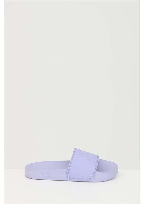 Lilac WOMEN'S BASE CAMP SOLID III slippers in solid color with tone on tone logo. The north face THE NORTH FACE | Slipper | NF0A4T2S0NN10NN1