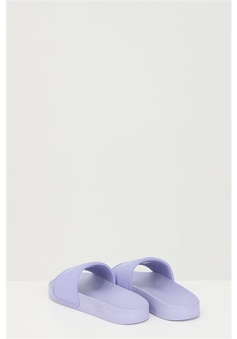Ciabatte WOMEN'S BASE CAMP SOLID III donna glicine in tinta unita con logo a contrasto THE NORTH FACE | Ciabatte | NF0A4T2S0NN10NN1