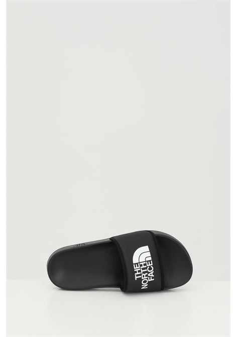 Black WOMEN'S BASE CAMP SOLID III slippers in solid color with contrasting logo. The north face THE NORTH FACE | Slipper | NF0A4T2SKY41KY41