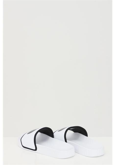 Ciabatte WOMEN'S BASE CAMP SOLID III donna bianco in tinta unita con logo a contrasto THE NORTH FACE | Ciabatte | NF0A4T2SLA91LA91