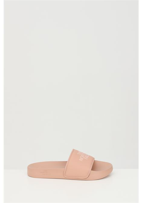 Pink WOMEN'S BASE CAMP SOLID III slippers in solid color with tone on tone logo. The north face THE NORTH FACE | Slipper | NF0A4T2SZ1P1Z1P1