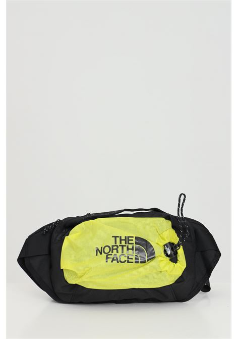 Black-yellow BOZER HIP PACK pouch with front logo in contrast  THE NORTH FACE | Pouch | NF0A52RWC6T1C6T1